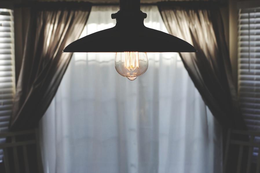 block outdoor light