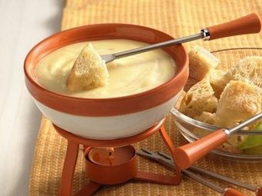 Cheese fondueCheese fondue