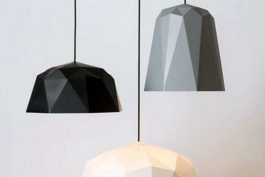 elegant mountain-inspired lamps