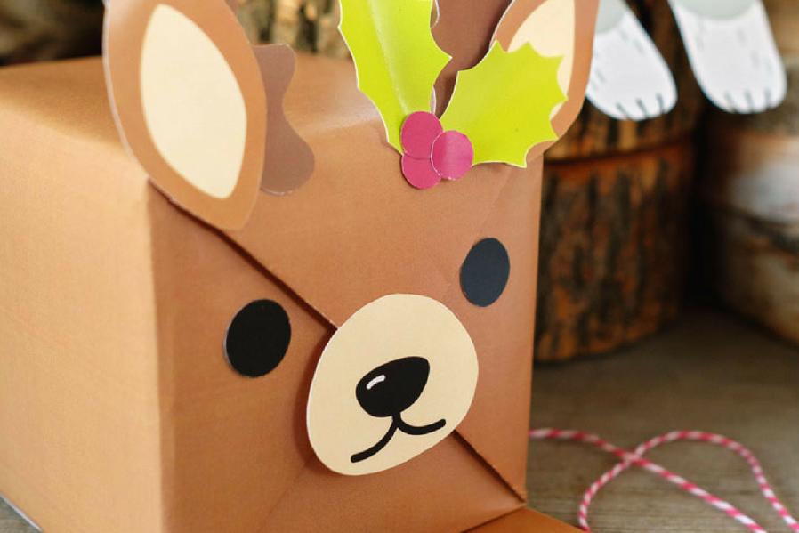 fun animal gift wrap