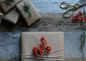 Weekend Condo Project: Cool Gift Wraps For The Creative Santa
