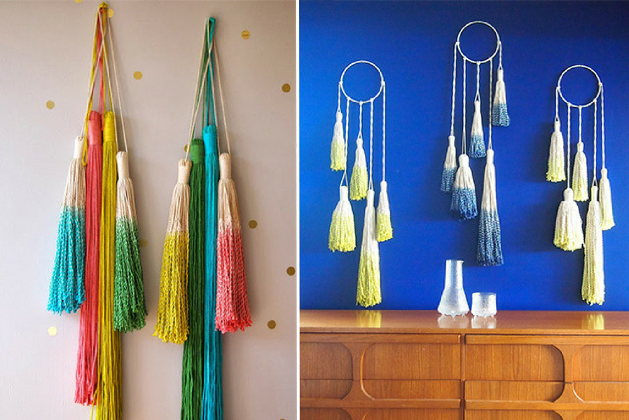 Macramé makeover next Step with Tassels