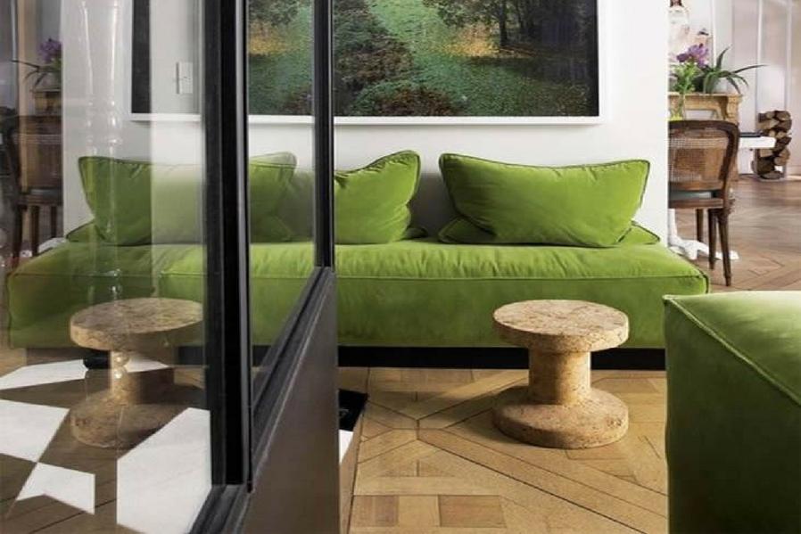 Wood + Greenery details