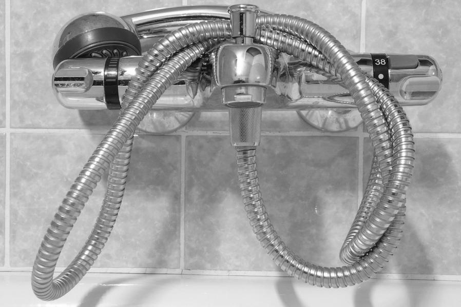 Condo bathroom upgrade your shower head