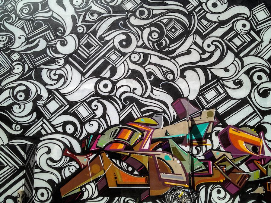 condo decoration art repetition