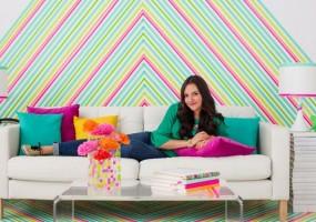 wallpaper washi tape crafts
