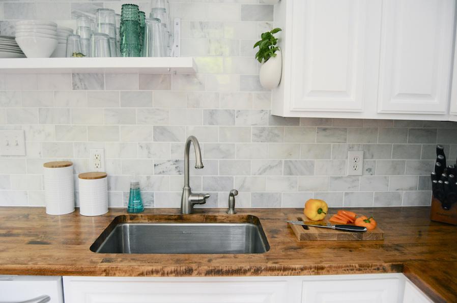 Kitchen Cabinet Open Shelves