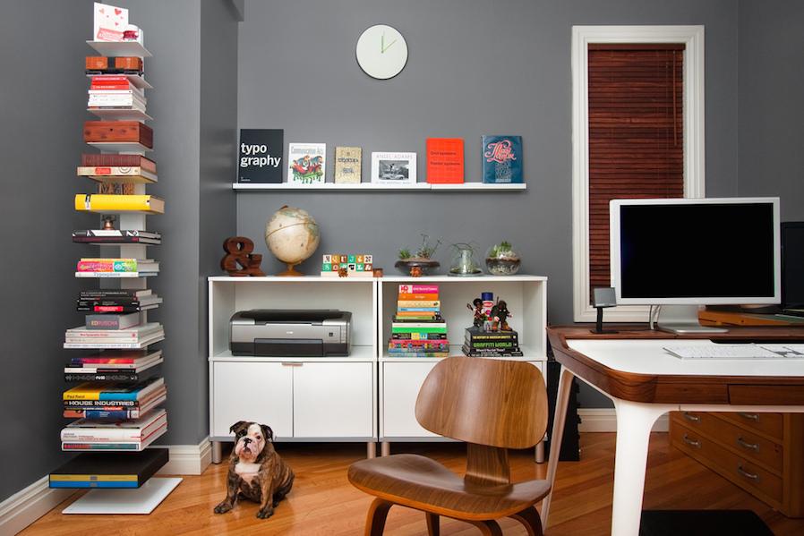 Bookworm Freestanding Shelf