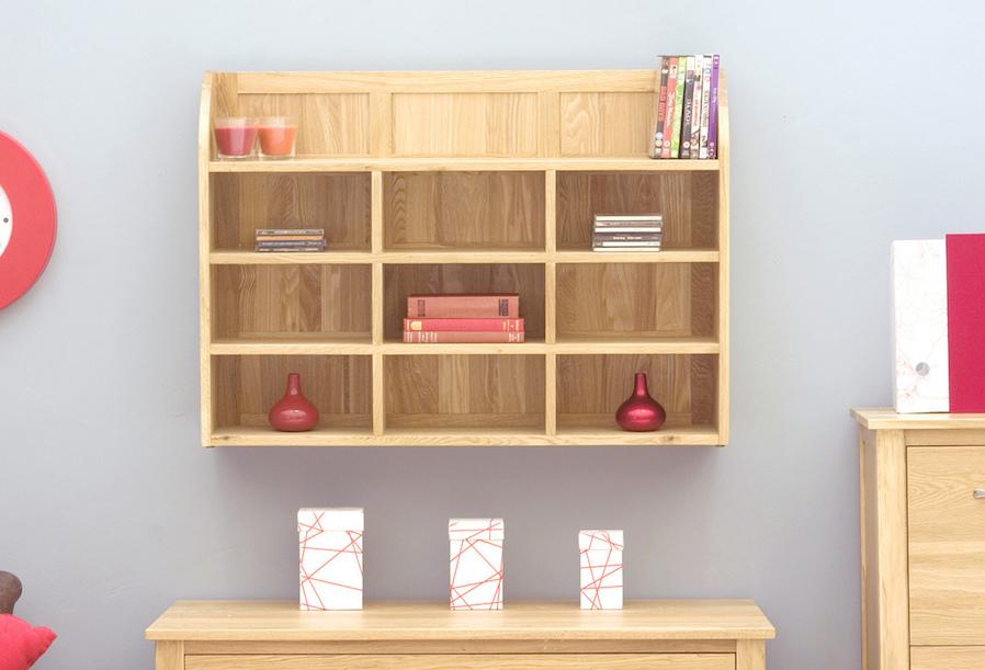 Bookworm Organic Top-Hung Nightstand