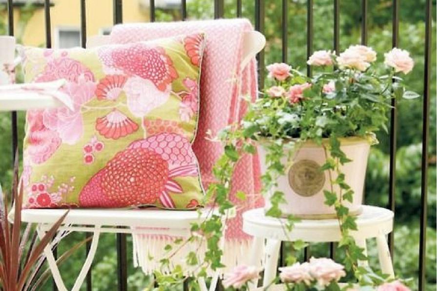 Summer Condo Garden