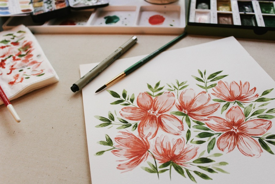 Summer Itinerary Art Session