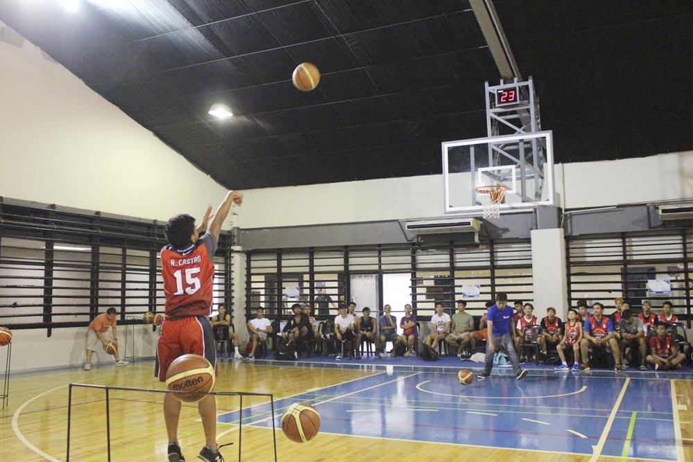dmci homes community basketball opening