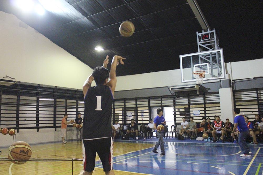 basketball 3 point shot
