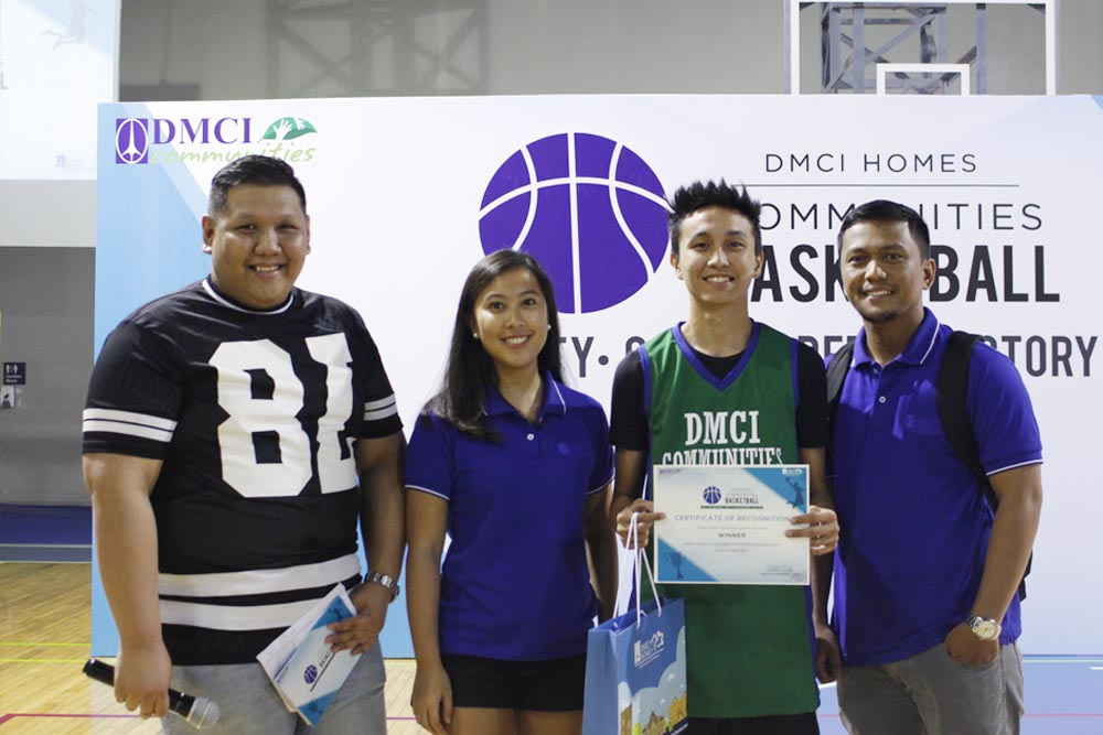 ceremony dmci homes community basketball