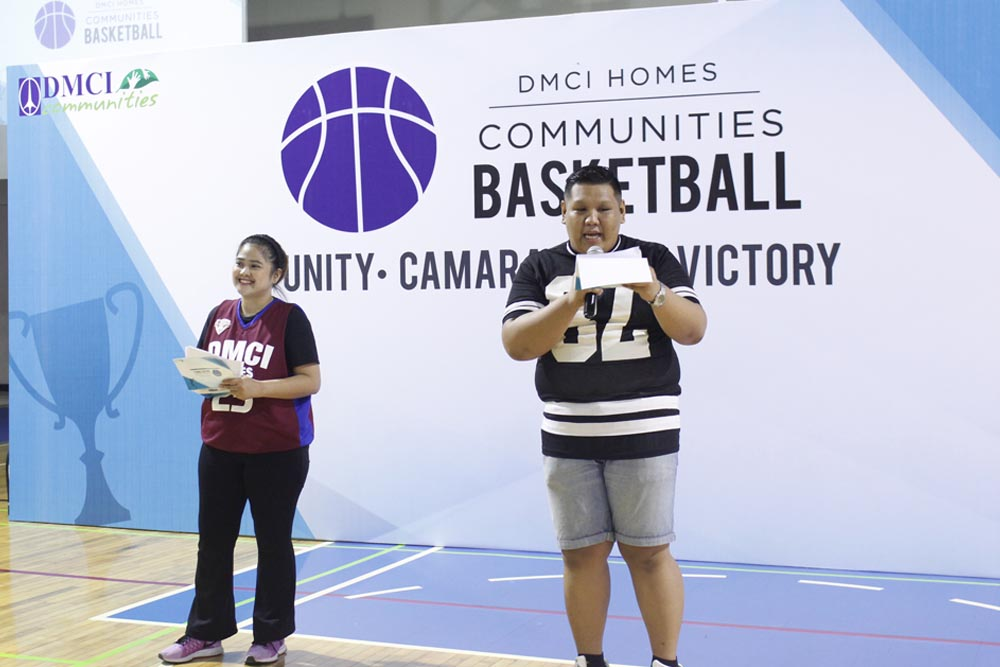 dmci community basketball ceremony