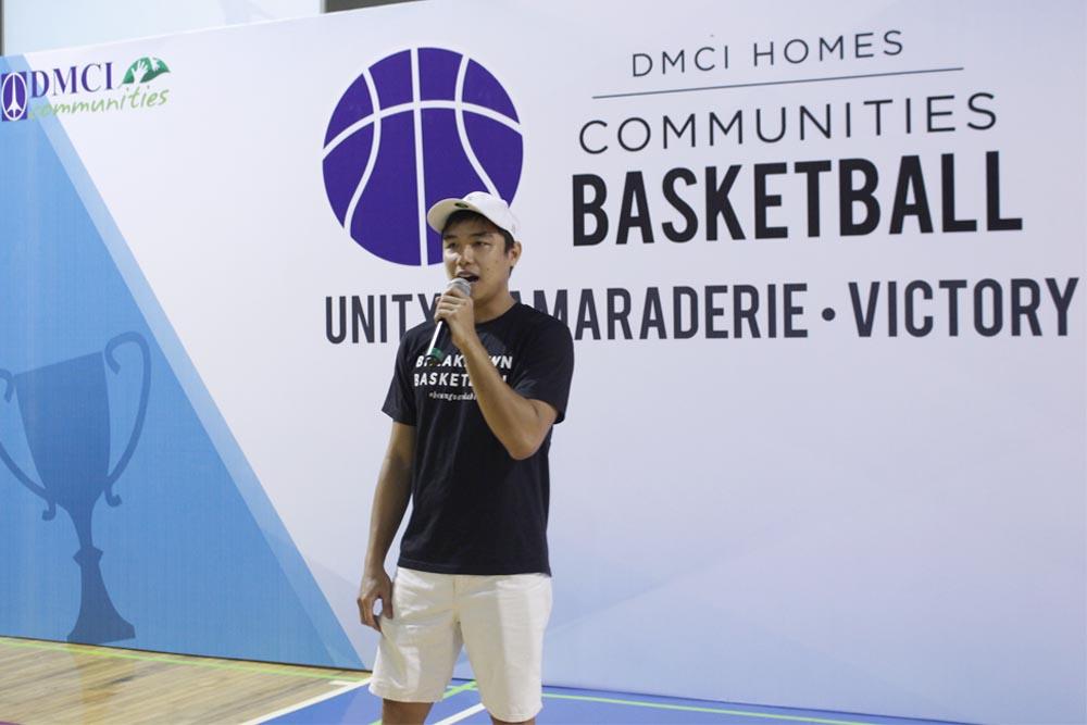 basketball start ceremony