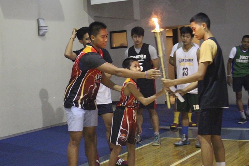 dmci homes basketball ceremony