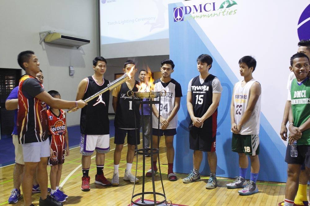 opening ceremony dmci homes community basketball