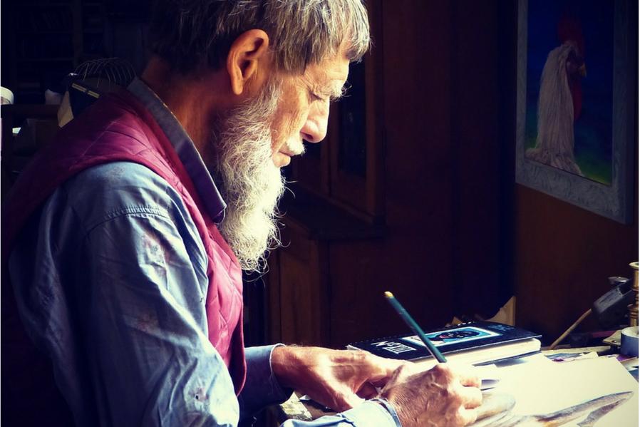 Senior Condo Living Busy and Creative