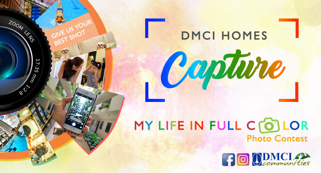 dmci homes capture photo contest
