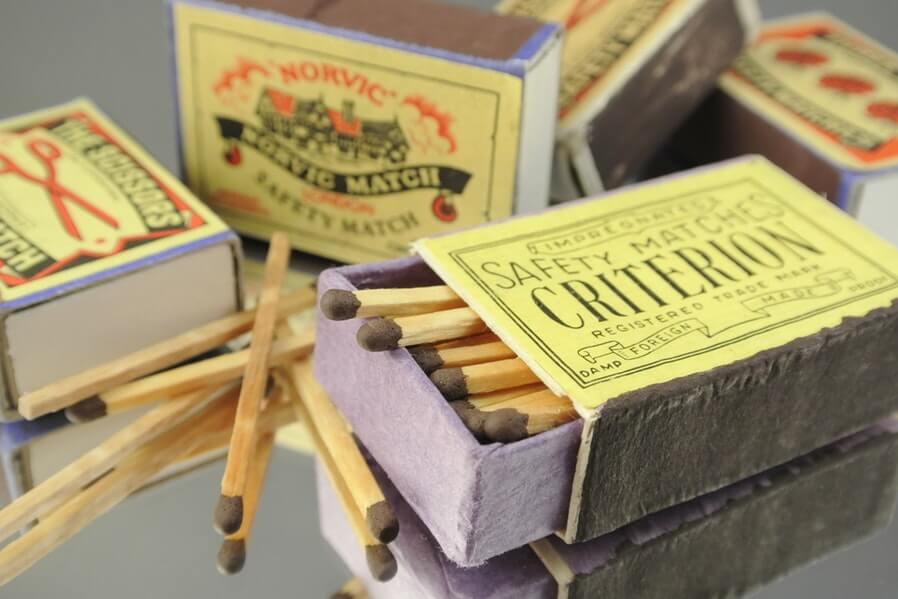 Condo Design Papercrafts Matchbox Storage (1)