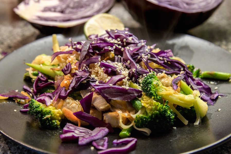 Rainy Evening Recipe Zesty Veggie Salad