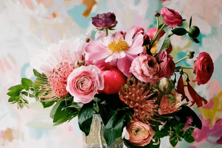 Condo Design Floral Garden