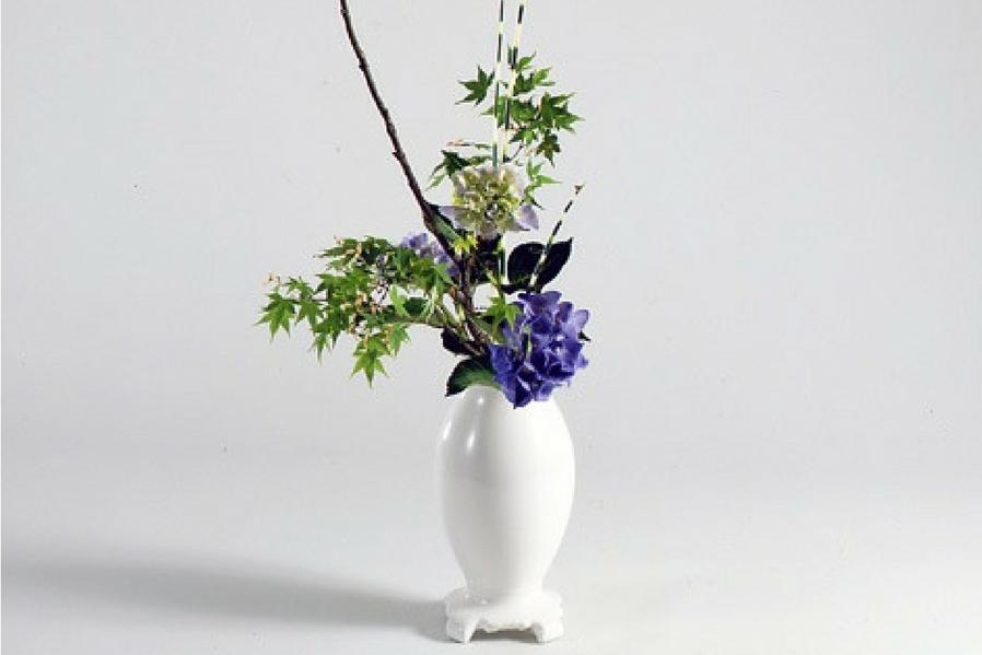 Minimalist Condo Ikebana Balance between Tradition and Modernity