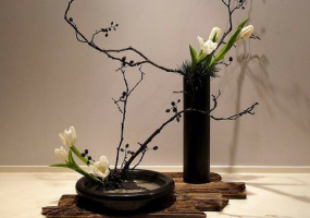 Weekend Condo Project: Beginner Ikebana for the Minimalist Condo Resident