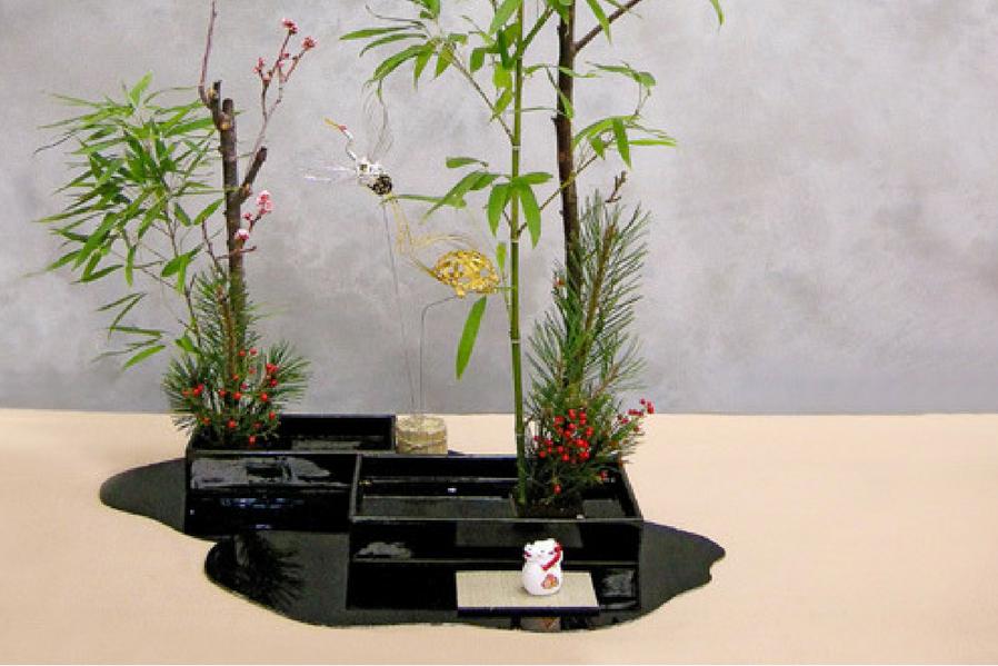 Minimalist Condo Ikebana School