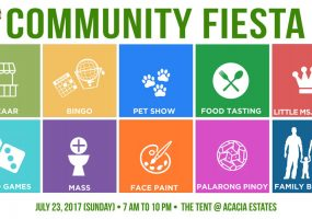 IN PHOTOS: Acacia Estates Community Fiesta 2017