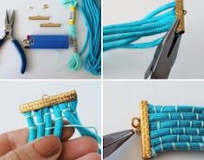 DIY Jewelry Trendy Woven Cuff