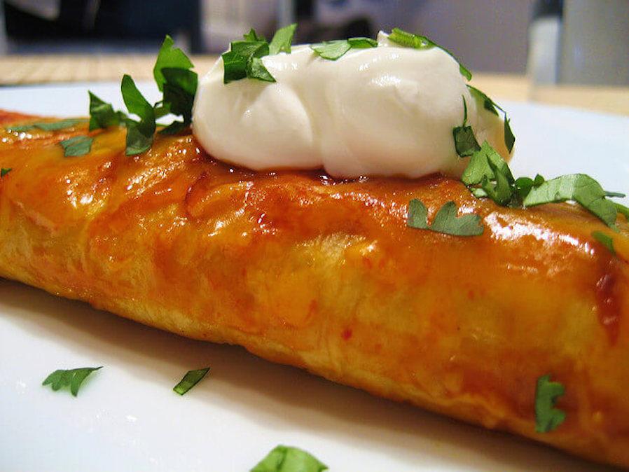 Healthy Gourmet Zucchini Enchiladas
