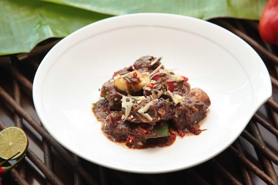 Filipino Christmas Beef Caldereta