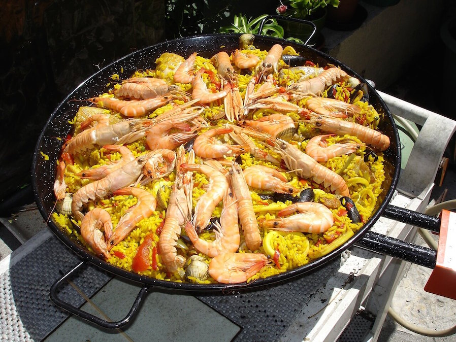 Filipino Christmas Dishes Paella