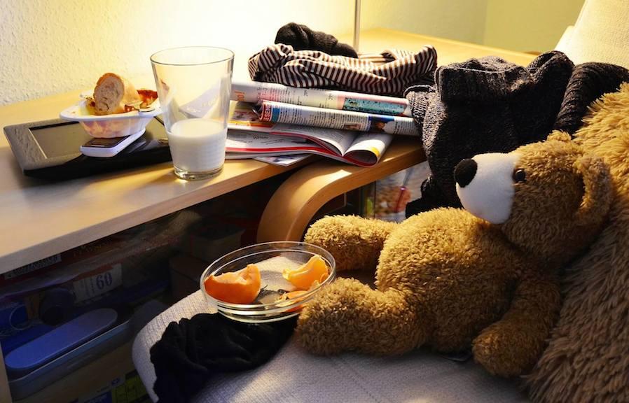 clutter room