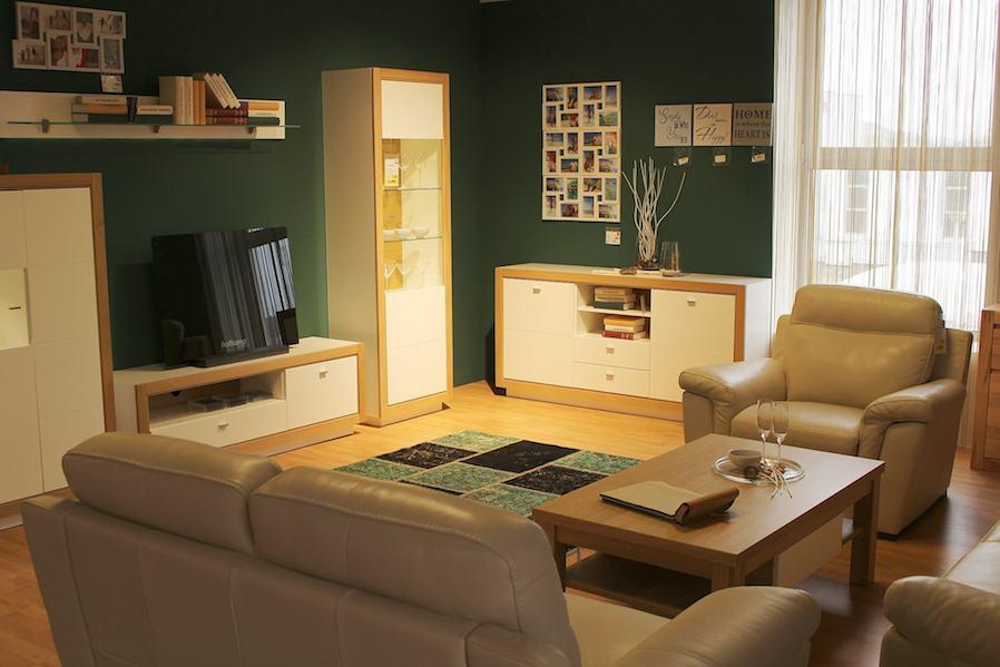 olive brown interior design idea