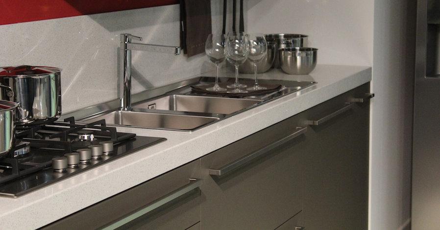tidy kitchen sink