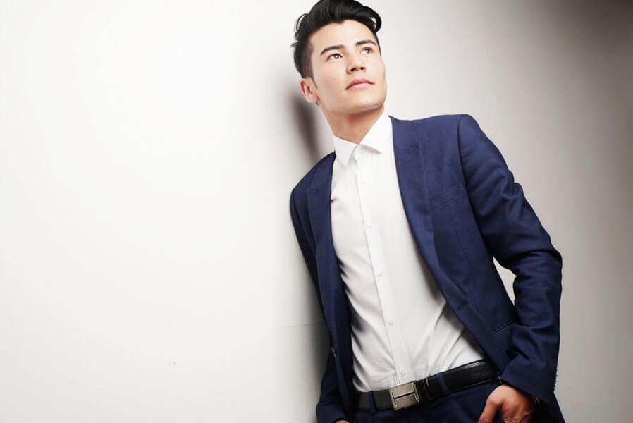 Man model wearing smart casual wear