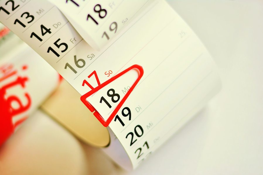 calendar roll