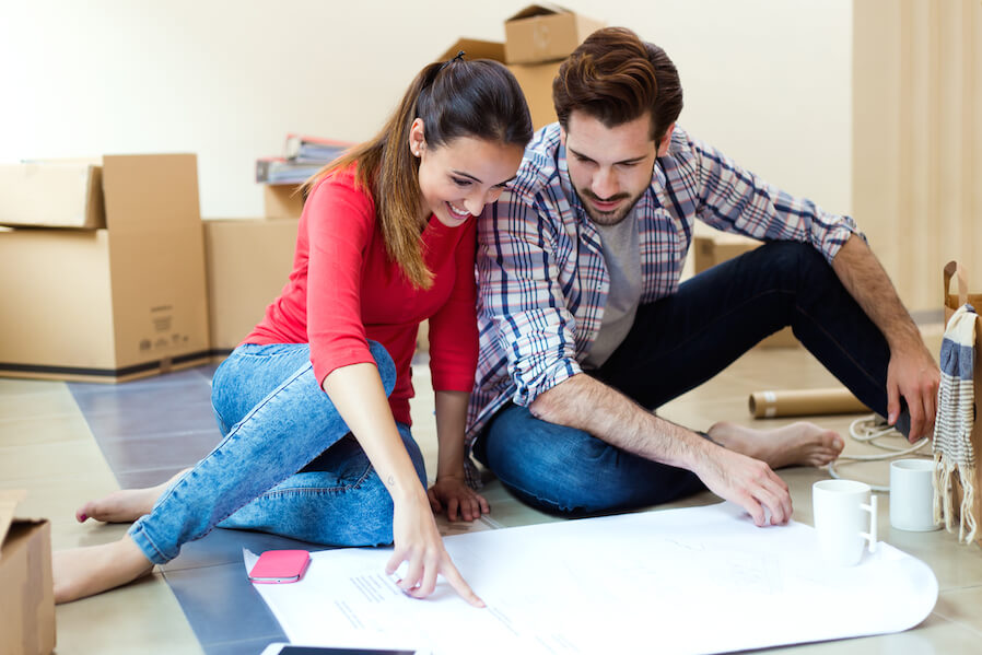 Man and wife house planning