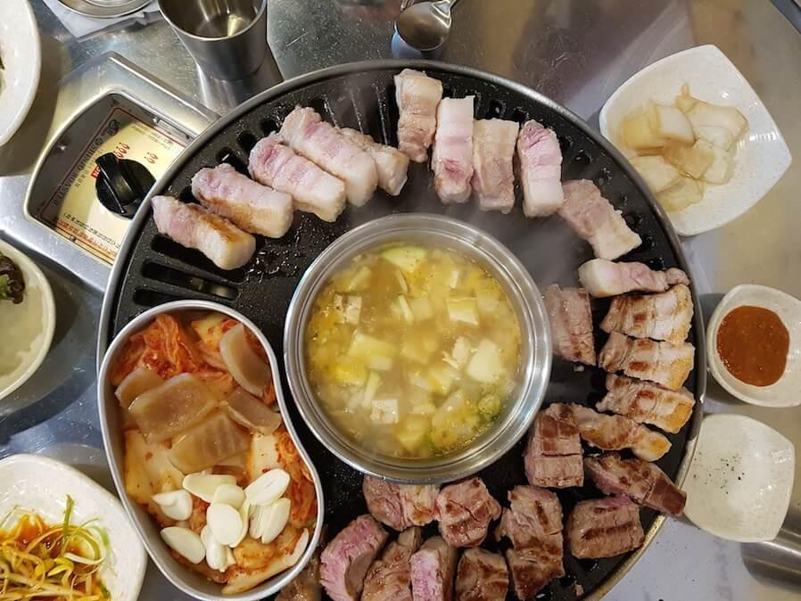 samgyupsal korean barbecue