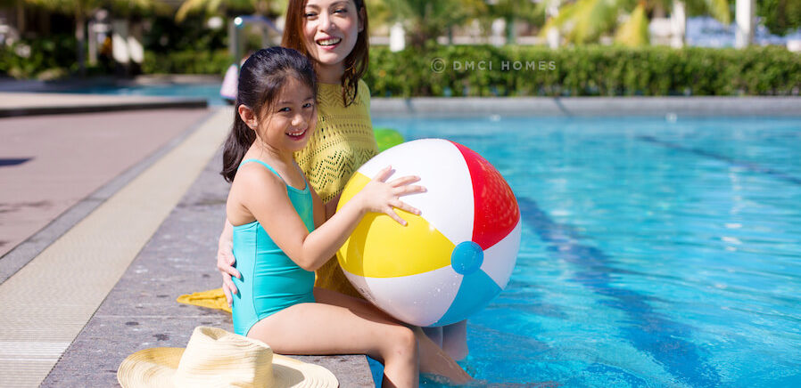 DMCI Homes Mother and Daughter Swimming Pool