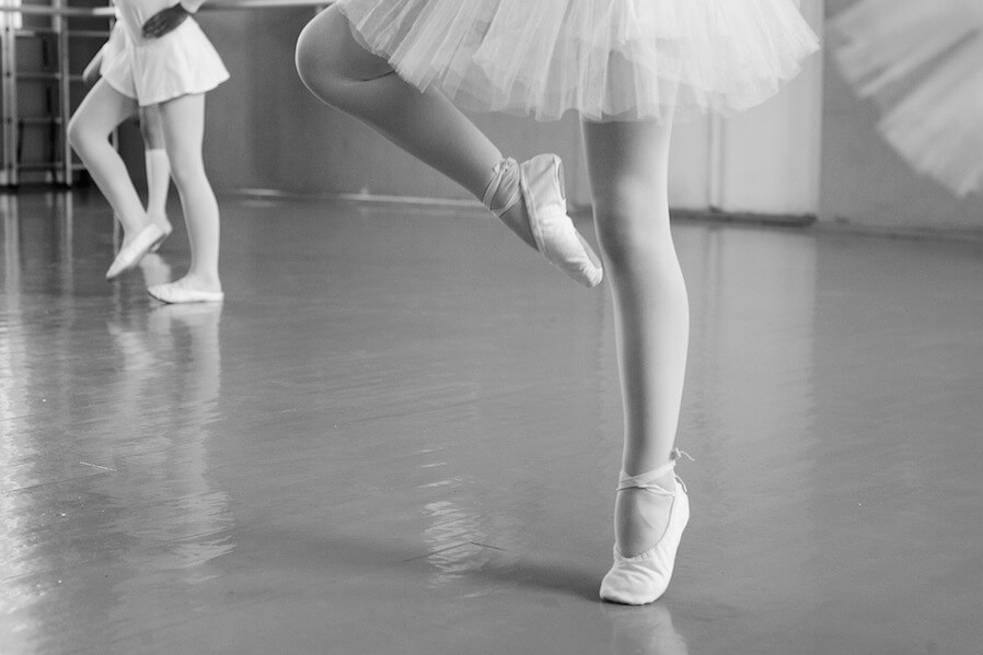 ballerina stance