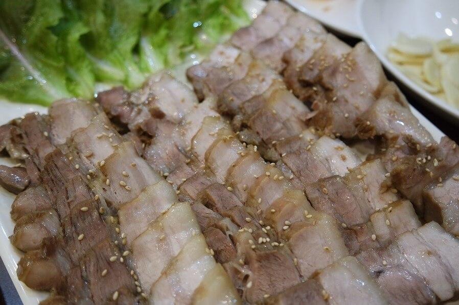 Korean pork cutlets