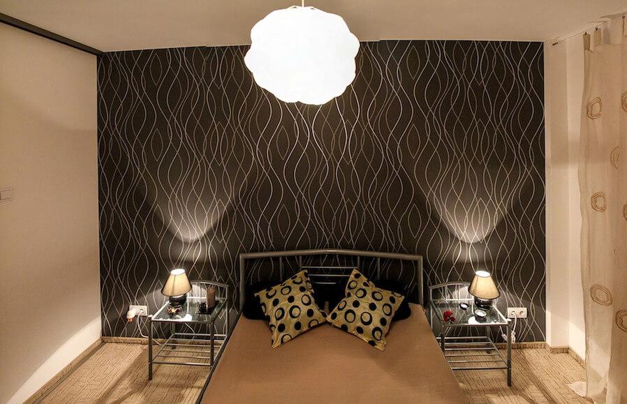 Matisse-esque bedroom wall