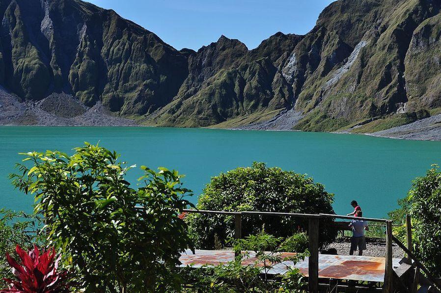 Mt Pinatubo area