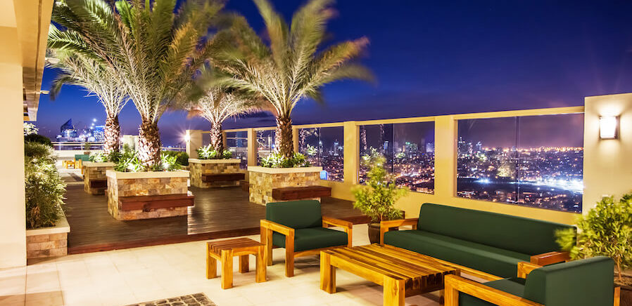 dmci homes tivoli graden residences roof deck view