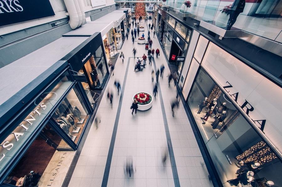 shopping malls interior
