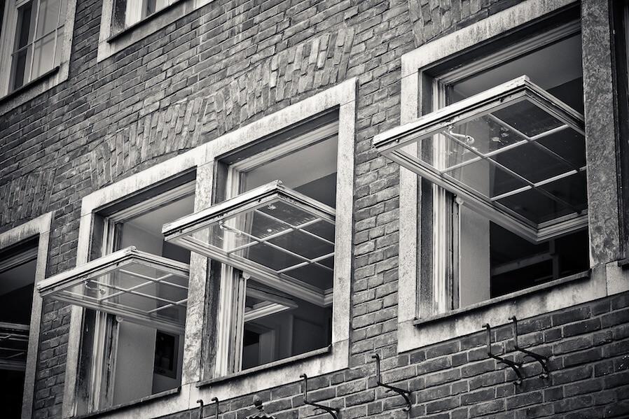 open window facade